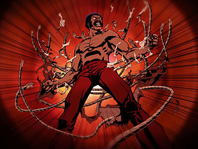 in anticipation of Adult Swim's new fonky toon depiction of Black Dynamite ...